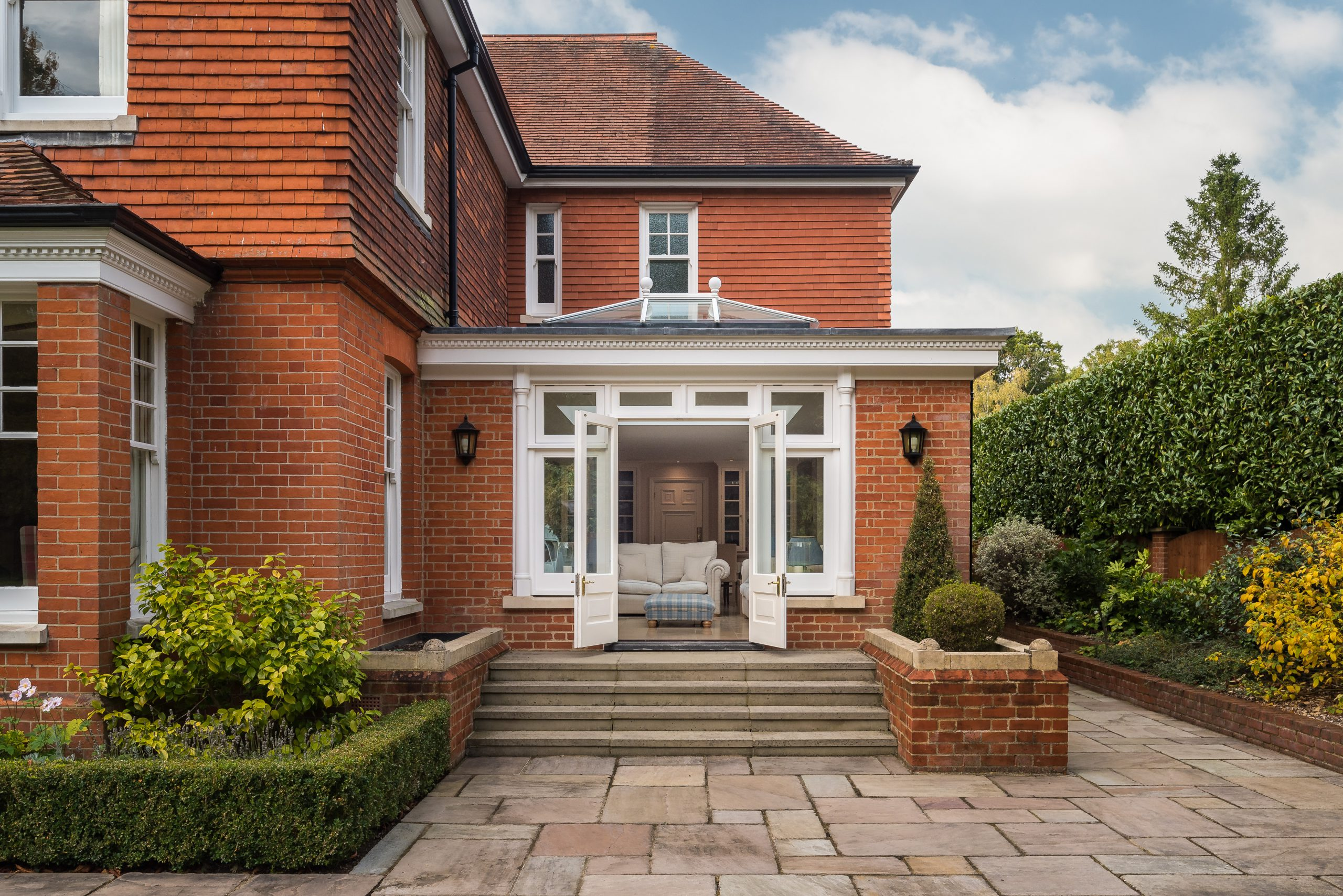 Orangery Extension on House