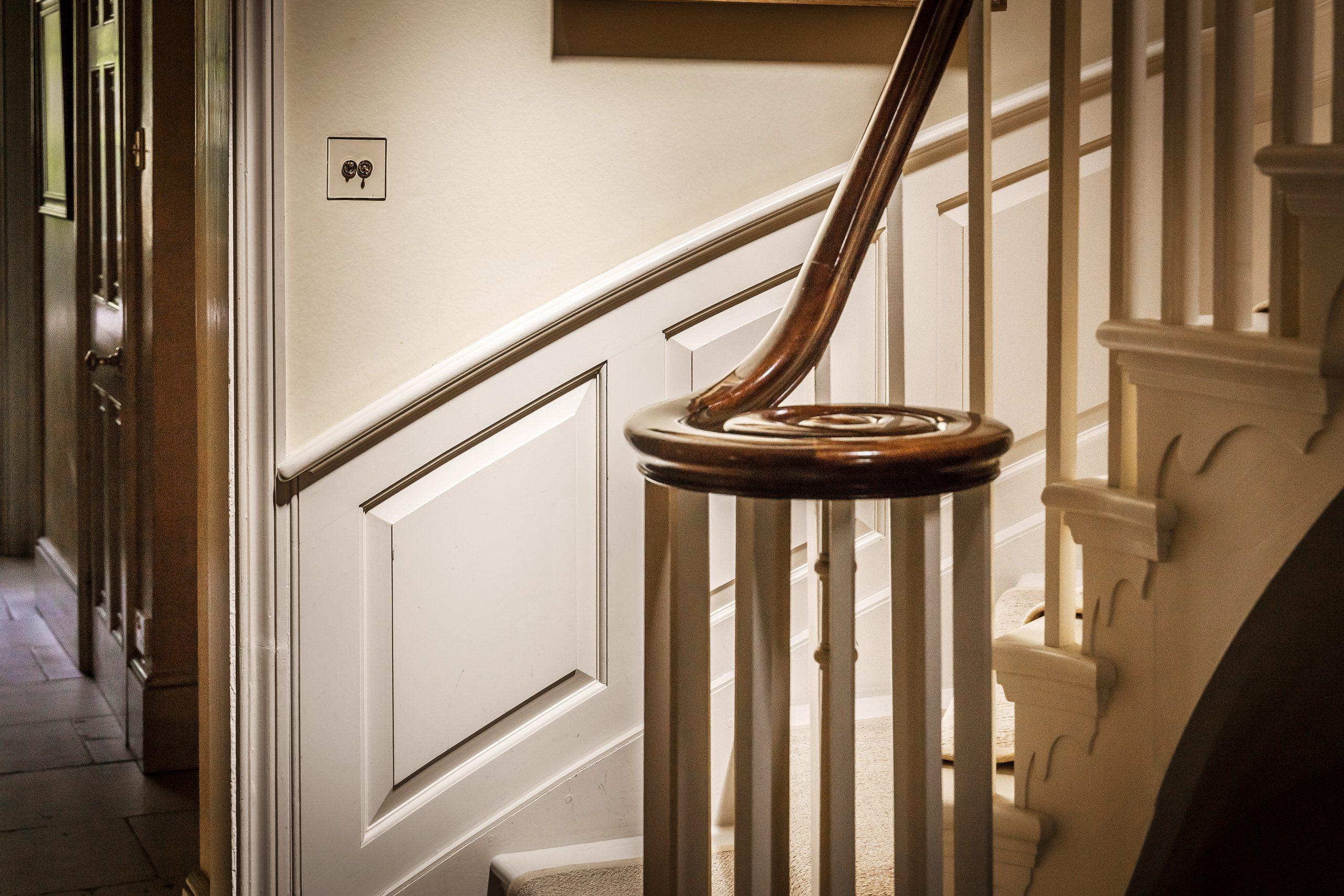 Broom Hall House Stairway